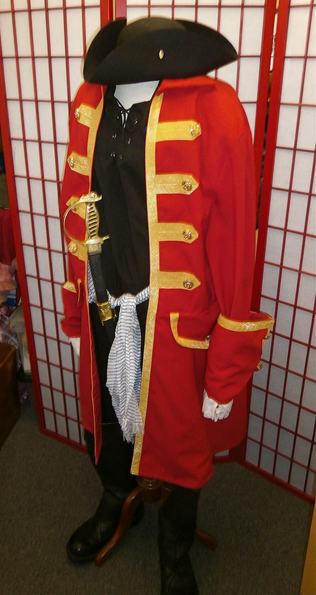 Pirate costume hire fancy dress